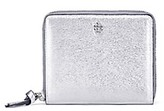 Tory Burch Crinkle Metallic Medium Wallet