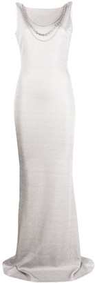 Just Cavalli Shimmer Evening Gown