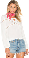 MinkPink Hourglass Top in White. - size L (also in XS)