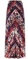 Dorothy Perkins Womens *Roman Originals Multi Colour Maxi Skirt- Multi Colour