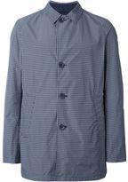 Herno checked lightweight jacket