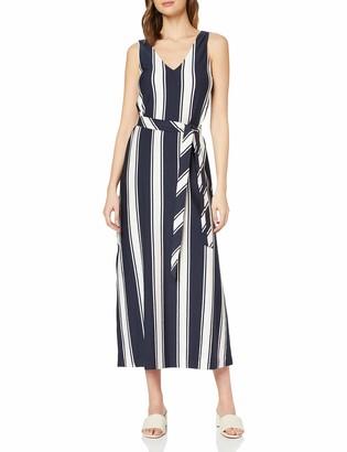 Gant Women's D2. Striped Maxi Jersey Dress