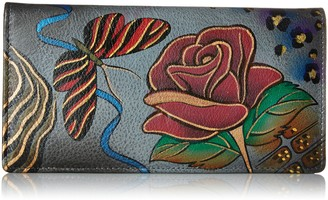 Anuschka Anna By Women's Leather Handpainted Wallet
