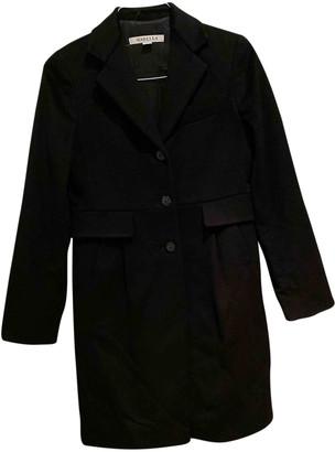 Marella Black Wool Coats