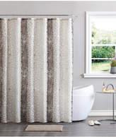Victoria Classics Vcny Bahati Bath Rug, Shower Curtain and Shower Hooks Set Bedding