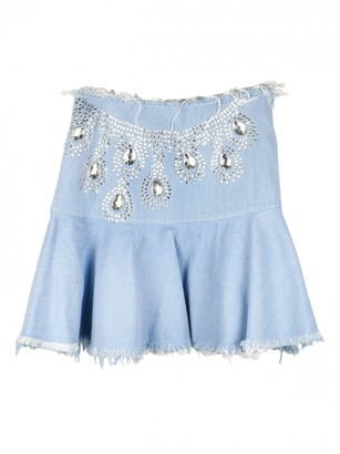 N. Fyodor Golan \N Blue Denim - Jeans Skirts