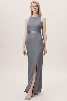 Adrianna Papell Idris Dress By in Grey Size 6
