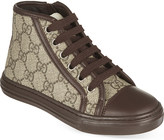 Gucci GG print high-top sneakers 5-8 years