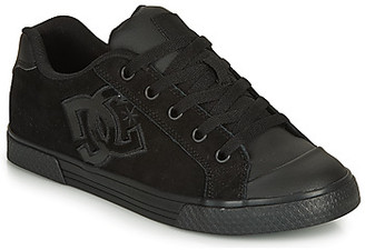 DC CHELSEA SE women's Skate Shoes (Trainers) in Black