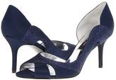 Nina Forever (Navy Satin) - Footwear