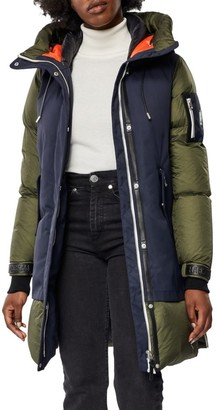 Mackage Inari Mixed Media Down Puffer Jacket