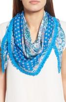 Echo Women's Print Silk Triangle Scarf