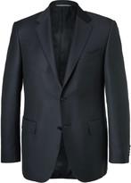 Canali - Blue Slim-fit Super 130s Wool Suit Jacket