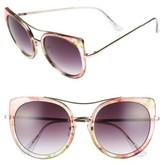 BP Women's 60Mm Round Sunglasses - Multi