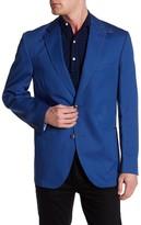 Kroon Bono Woven Two Button Notch Lapel Coat