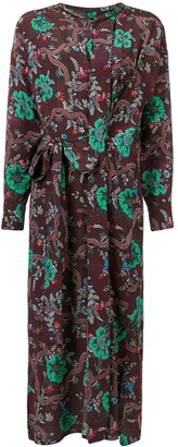 Isabel Marant Floral Print Belted Dress
