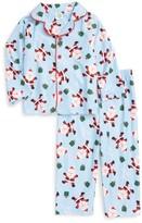 Little Me Infant Boy's Santa Two-Piece Pajamas