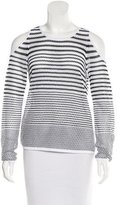 Rag & Bone Striped Open Knit Top w/ Tags