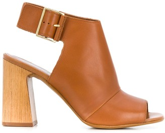 Carvela Open Toe Ankle Boots