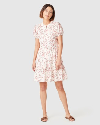 French Connection Women's Dresses - Puff Sleeve Dress - Size One Size, 14 at The Iconic