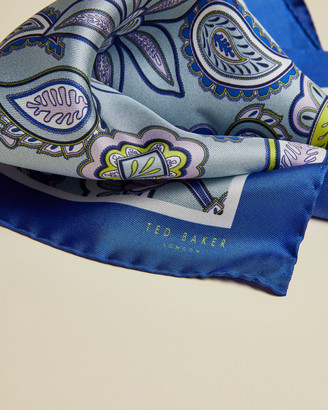 Ted Baker RAMSEY Silk paisley pocket square