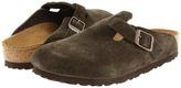 Birkenstock Boston Suede Clog Shoes