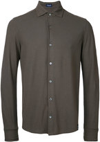 Drumohr plain shirt - men - Cotton - 46