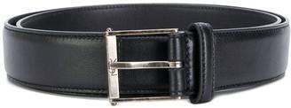 Saint Laurent Monogram roller buckle belt