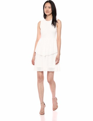 Vero Moda Women's Fay Sleeveless Ruffle Tiered Dress