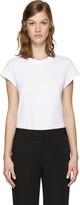 Alexander Wang White Jersey T-shirt Bodysuit
