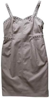 Georges Rech Camel Cotton Dress for Women