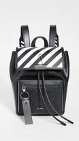 Off-White Off White Diagonal Binder Backpack