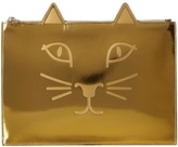 Charlotte Olympia #Kitty Pouch Clutch Handbags