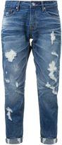 GUILD PRIME distressed cuffed skinny jeans