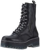 Women's 1 1 25957 33 Combat Boots, (Black 001)