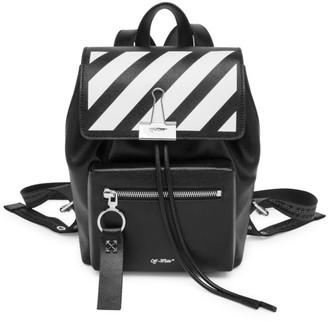 Off-White Mini Diagonal Stripe Backpack