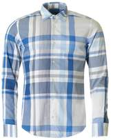 BOSS Casual Long Sleeved Slim Fit Checked Shirt