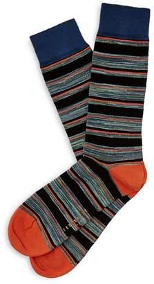Ted Baker Seffner Mélange Striped Socks
