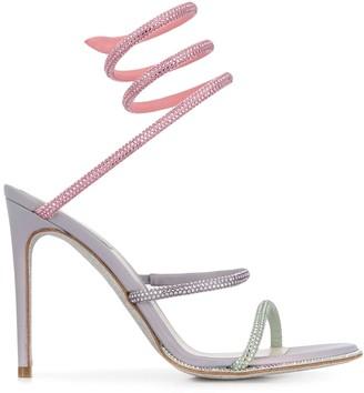 Rene Caovilla Cleo Binari spiral-strap sandals