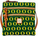 Dooney & Bourke Oregon Ducks Triple Zip Crossbody Bag