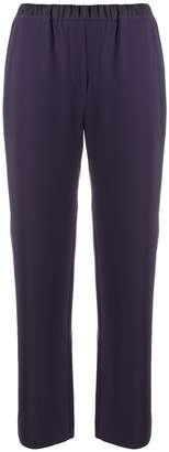 Emporio Armani elasticated straight trousers