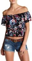 Lush Off-the-Shoulder Blouse
