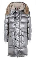 Moncler Inuit Fur Trim Jacket