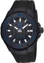 Technomarine Men's Manta 48mm Silicone Band Automatic Watch Tm-215089