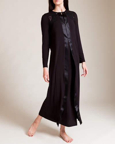 La Perla Pizzo Long Robe
