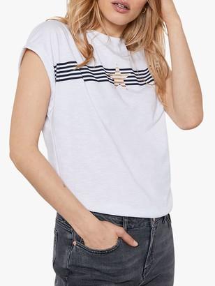 Mint Velvet Star Stripe T-Shirt