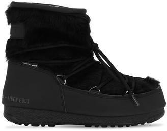 Moon Boot Monaco Low Faux Fur Wp Boots