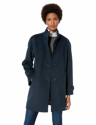 Jones New York Women's Long Wool Coat