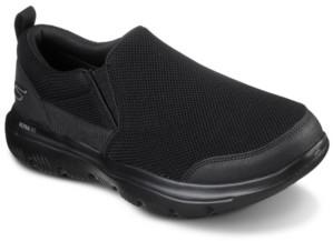 Skechers Men's GOwalk Evolution Ultra - Splinter Slip-On Wide Width Walking Sneakers from Finish Line