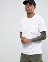 MHI T-Shirt In White With Logo